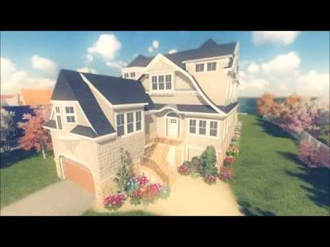 3D Walkthrough of a new home proposal located in Westhampton Beach