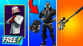 Fortnite UPDATE! Street Ops Bundle, KFC Chicken Champ Skin FREE?, NEW Silenced Sniper (HOW TO GET)