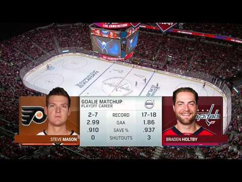 Philadelphia Flyers @ Washington Capitals. Round 1 Game 2