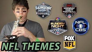 EVERY NFL THEME SONG on the SAXOPHONE! 🏈🎷