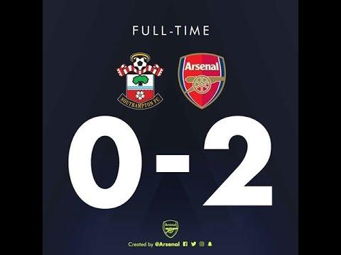 Download Southampton (0) vs (2) Arsenal Highlights & Goals,Full HD