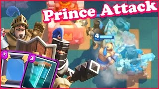 Clash Royale Buffed Clone Prince Attack Mirror Clone Prince Troll Deck In The Troll Arena