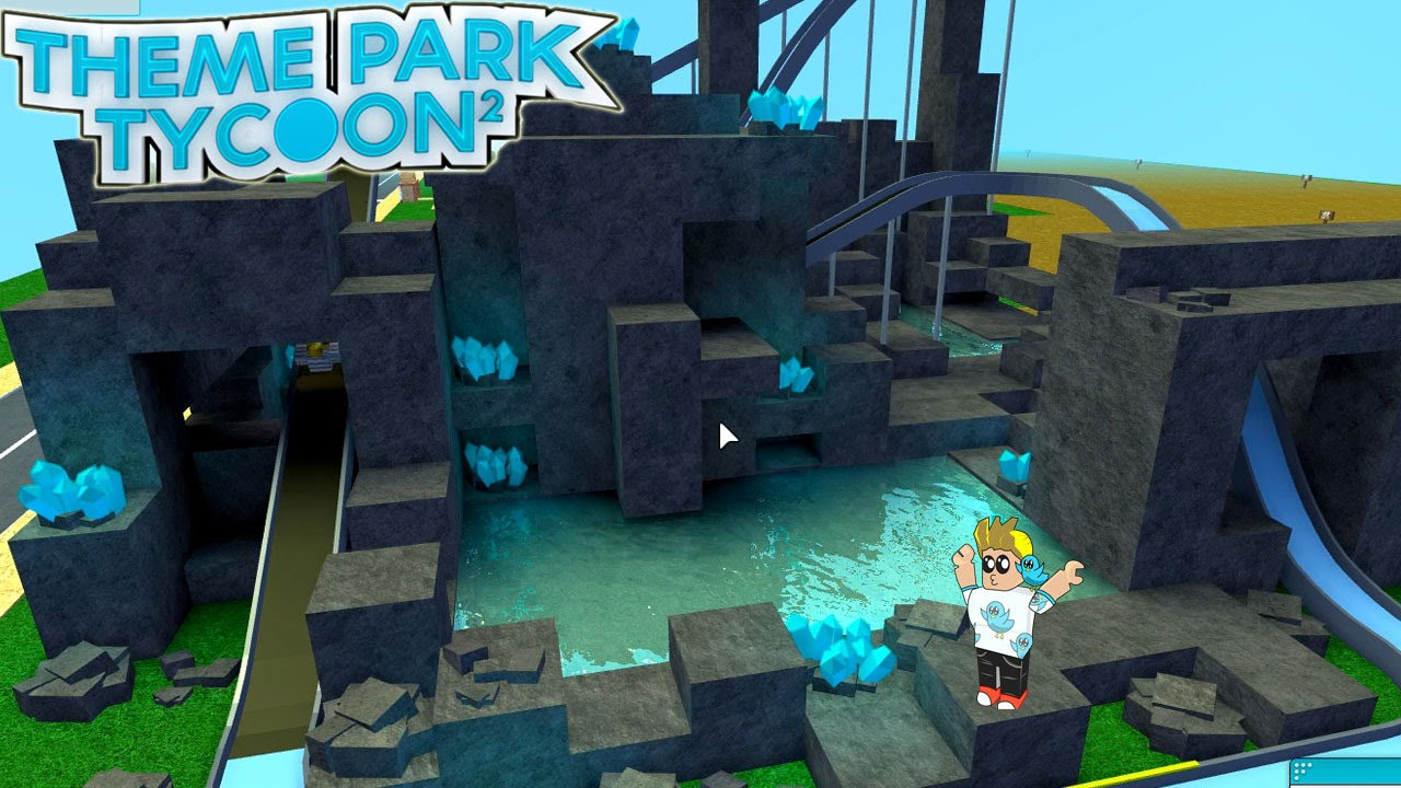 Roblox Crystal Caves Water Adventure Ride Theme Park Tycoon 2