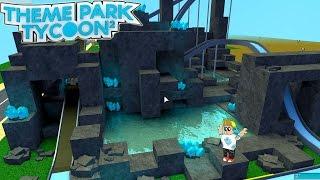 Roblox / Kristallhöhlen Wasser Abenteuer Fahrt! / Themenpark Tycoon 2 / Gamer Chad Plays
