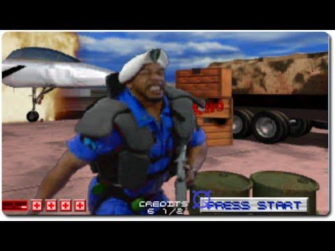 Arcade Longplay #35: Area 51