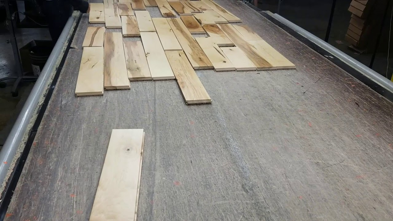 4 X 3 Solid Hard Maple Rustic Hardwood Flooring