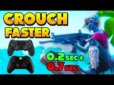 CROUCH PEEK FASTER ON CONTROLLER! (PS4 & XBOX) *FORTNITE SEASON 8*