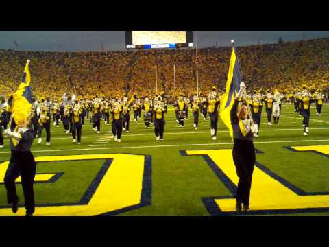 Michigan Marching Band Intro for Notre Dame