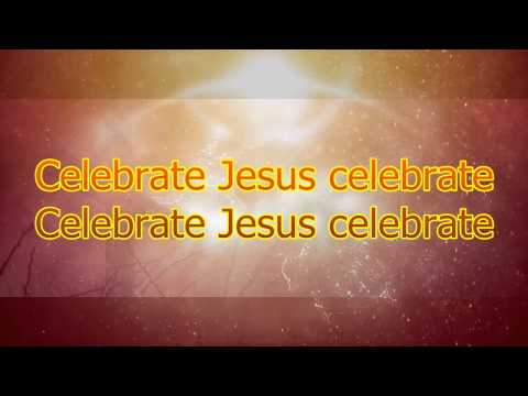 Celebrate Jesus - Instrumental with Lyrics (no vocals)