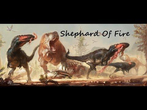 """Tyrannosauridae - """"Shepherd of Fire"""""""