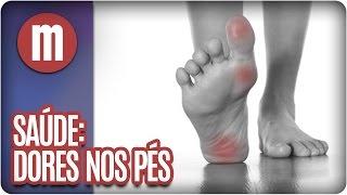 Doem mãos e pós-parto pés