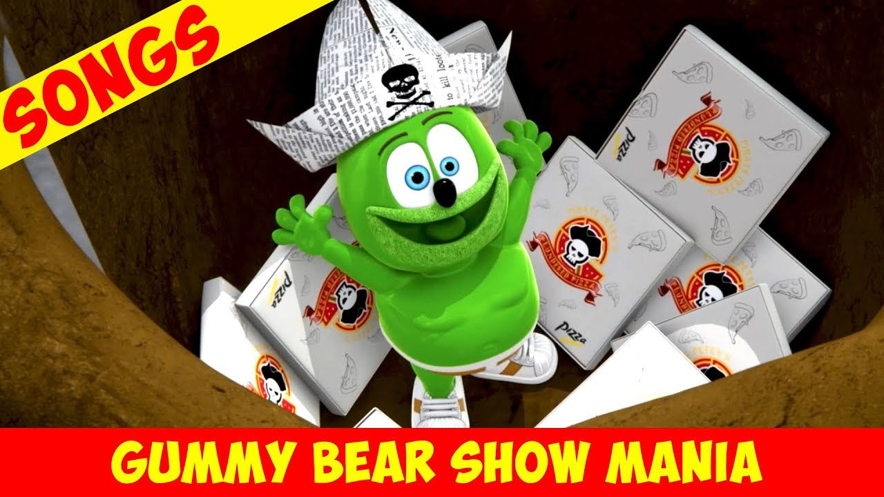 "Gummibär ""The Pizza Pirate"" Song AHOY! (Extended) – Gummy Bear Show MANIA"
