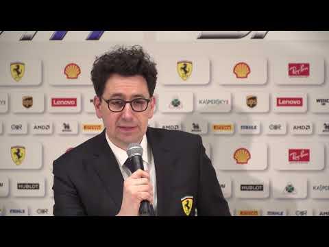 F1 2018 - Ferrari SF71H launch - Arrivabene & Binotto interviews