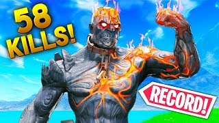*NEW* 58 SOLO KILLS Record..!! | Fortnite Funny and Best Moments Ep.385 (Fortnite Battle Royale)