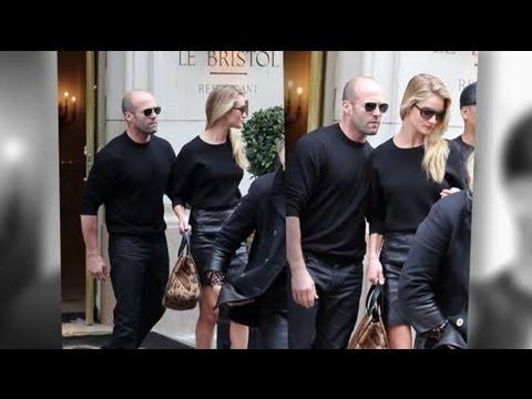 Rosie Huntington-Whiteley And Jason Statham's Relationship Still Strong - Splash News