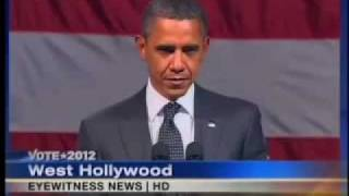 WATCH OBAMA'S FACE FREEZE - 'ANTICHRIST SPIRIT' CONFRONTED!