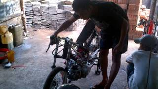 setting drag vega 200 cc