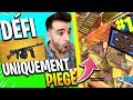 DÉFI ► TOP1 QU'À LA THOMPSON & PIÈGE Démoniaque  Fortnite Battle Royale