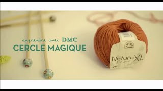 Apprendre le crochet : Cercle magique avec DMC