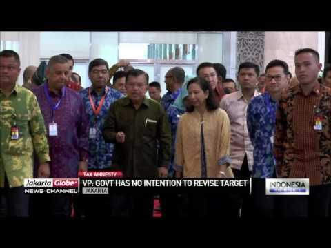 Kalla: Govt Optimistic Tax Amnesty Revenue Target Will Be Achieved