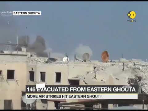 45 civilians killed after Air strikes on Syria's Eastern Ghouta