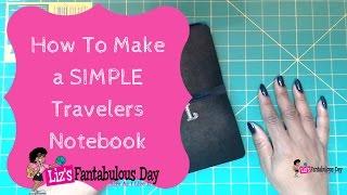 How to Make Not a Madori Traveler's Notebook Insert's, Easy Fauxdori Notebook Inserts #fauxdori thumbnail