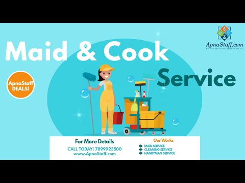 Find A Good Cook And Maids for this Christmas