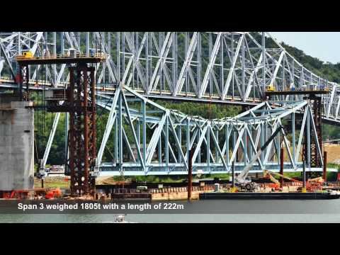 VSL Heavy Lifting: Milton-Madison Bridge, USA