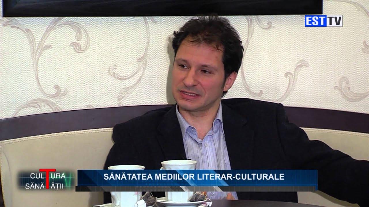 """Criticul Bogdan Creţu la """"Cultura sănătăţii"""". Sănătatea mediilor literar-culturale"""
