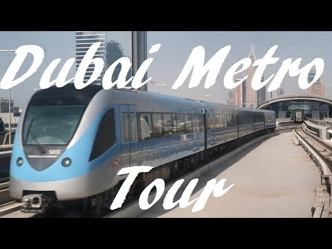 Tour Of The Dubai Metro - Lines And Principle Stations