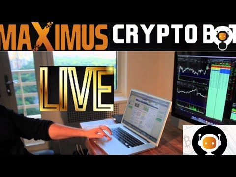 Maximus Cryptobot February Trading Update! Back In Full Force!! Live