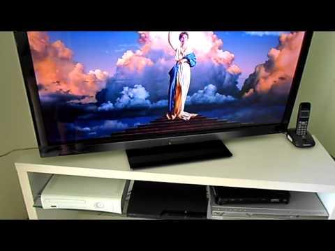 Teste do Media Server no Panasonic Viera 42 Polegadas