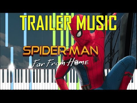 SPIDER-MAN: FAR FROM HOME - TRAILER MUSIC [Synthesia Piano Tutorial] thumbnail