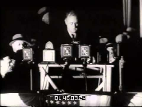 Stock Footage: FDR Presidential Campaign 1932
