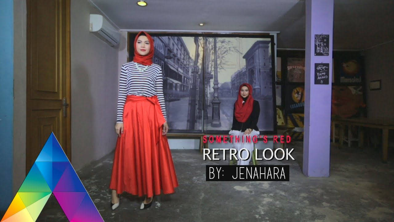 Dua Hijab Retro Moslem Style 7 2 16 3 2