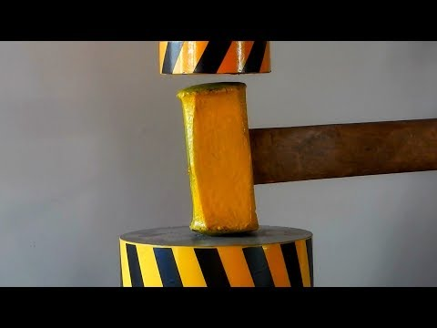 Hard hammer challenges 100 tons of hydraulic pressure, who is strong from YouTube · Duration:  4 minutes 41 seconds