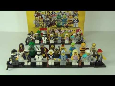 LEGO Series 10 Minifigures Full Box Break + Ratio Counts 71001