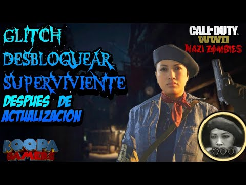 GLITCH DESBLOQUEAR SUPERVIVIENTE / SURVIVALIST EN UNA SOLA PARTIDA WW2 ZOMBIES (ver descripción)