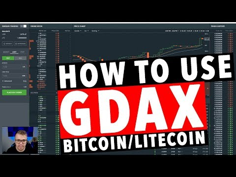 How to Use GDAX Bitcoin Exchange!