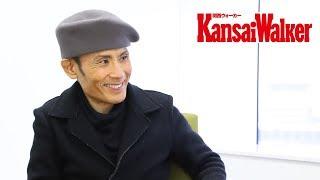阪急うめだ本店で片岡鶴太郎さんが、画業25周年・芸能生活45周年記念の...