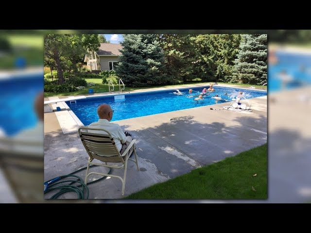 94-year-old retired judge puts in pool for neighborhood kids