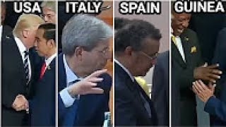 BUKAN HANYA TRUMP TAPI PEMIMPIN DUNIA REBUTAN SALAMAN DG JOKOWI DI AJANG G20