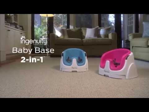 ingenuity baby base 2 in 1 booster seat slate