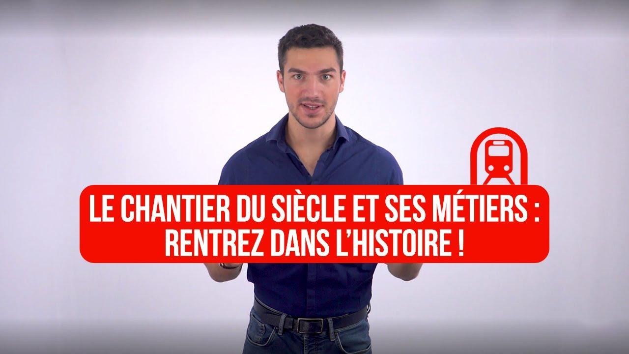 Download Le chantier du siècle et ses métiers : rentrez dans l'histoire !