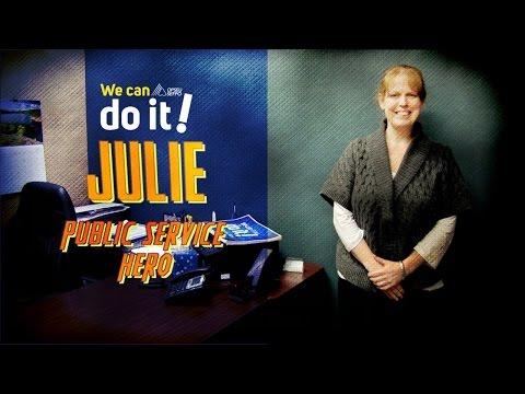 Public Service Hero - JULIE