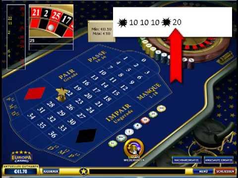 roulette spielen mit spielgeld