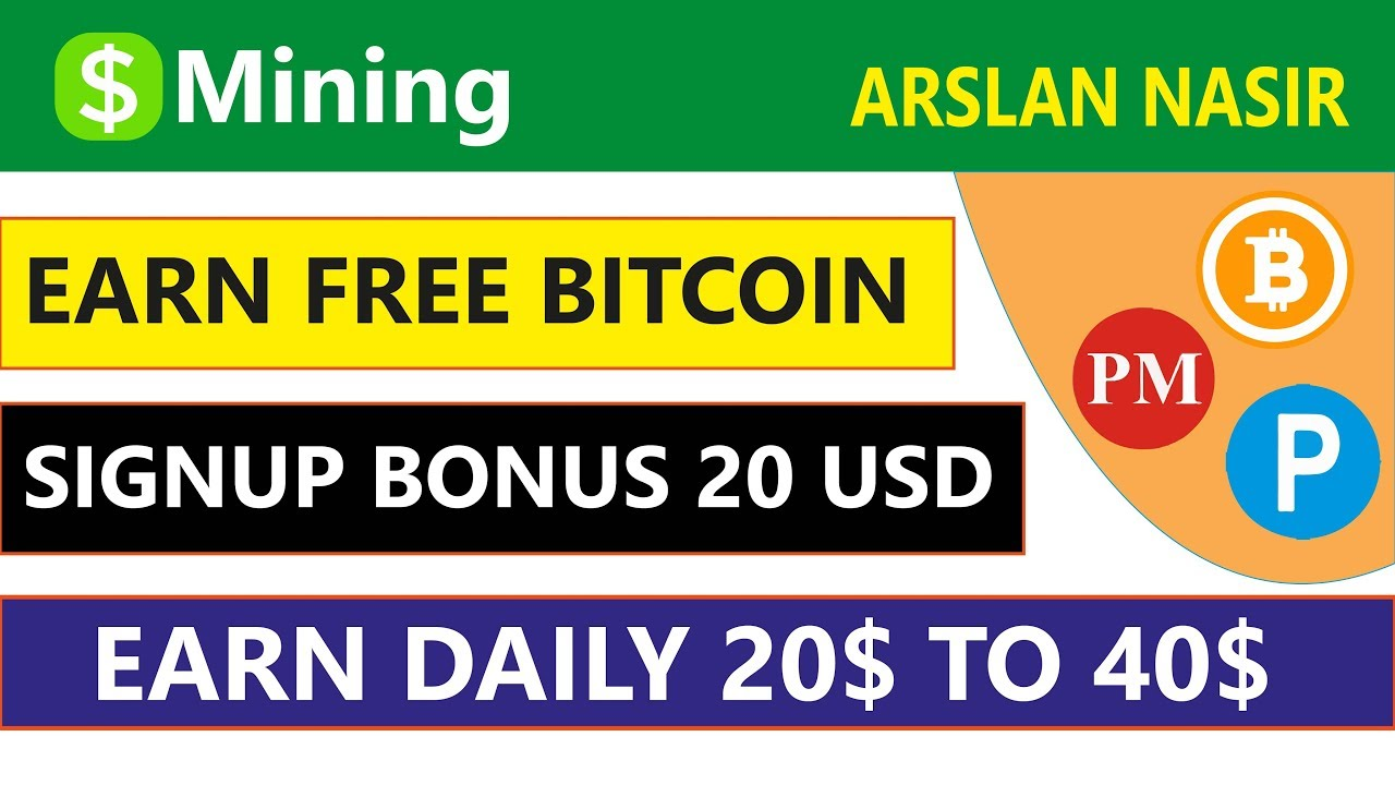 Usd Mining | Earn Free Bitcoin Signup Bonus 20 USD | Earn Daily 20$ To 40$  Live 2019 in Urdu Hindi