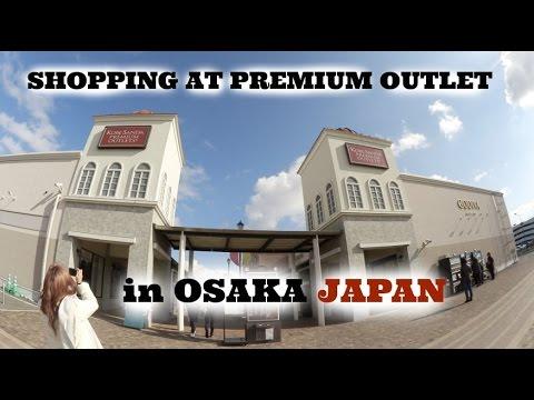 VLOGMAS DAY 10 | SHOPPING AT PREMIUM OUTLET IN OSAKA
