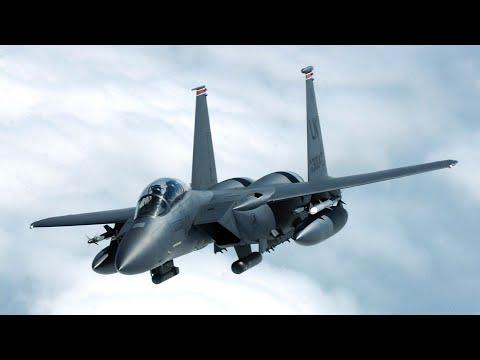 F15 Strike Eagle US. Air Force Flying