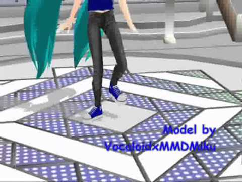 MMD Elektrika  K-pop Fan Miku Model Test